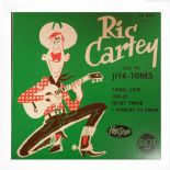 "45 EP ✦✦ RIC CARTEY & HIS JIVA-TONES ✦✦ ""Young Love""-Fantastic French EP Reissue"